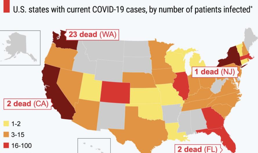 Проверка на коронавирус в США хуже, чем в России