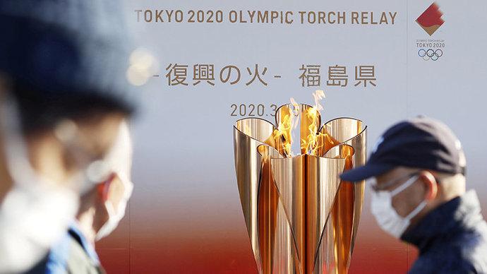 Олимпийский огонь будет выставлен течение месяца в J-Village