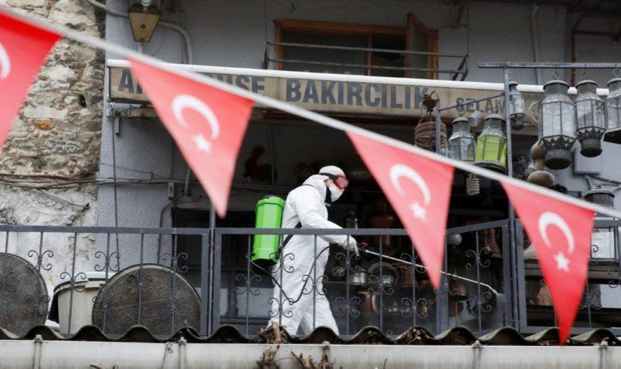 В Турции растёт смертность от нового коронавируса