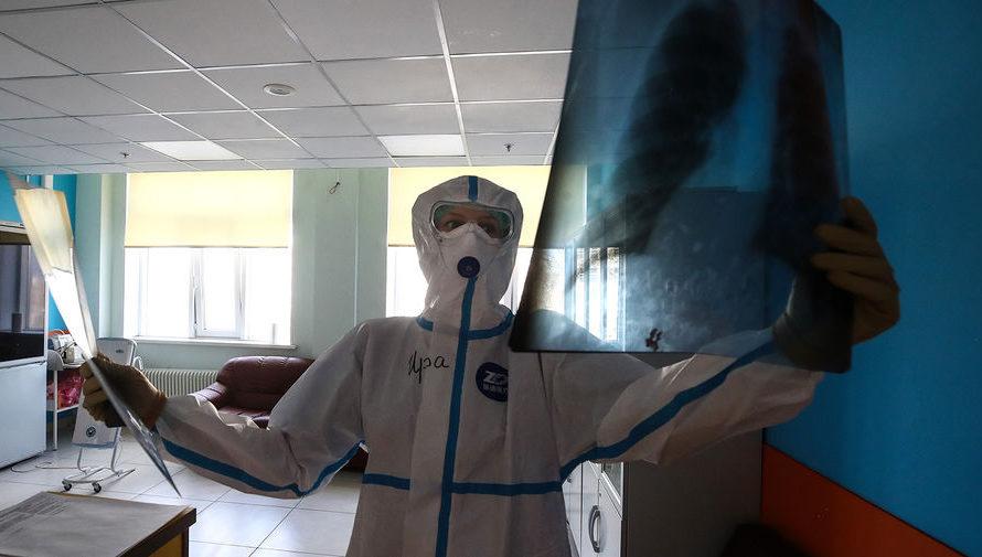 Россия на 9 месте по числу случаев коронавируса