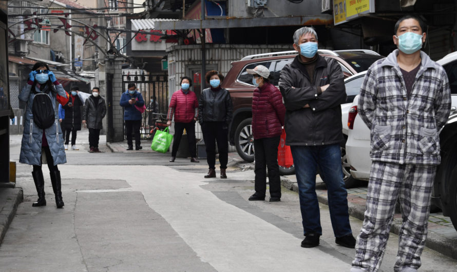 Новые случаи Covid-19 в Китае