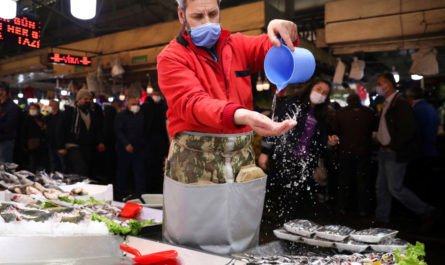 Коронавирус в Турции в апреле