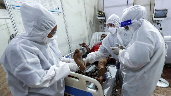 В Индии выявлены новые симптомы коронавируса