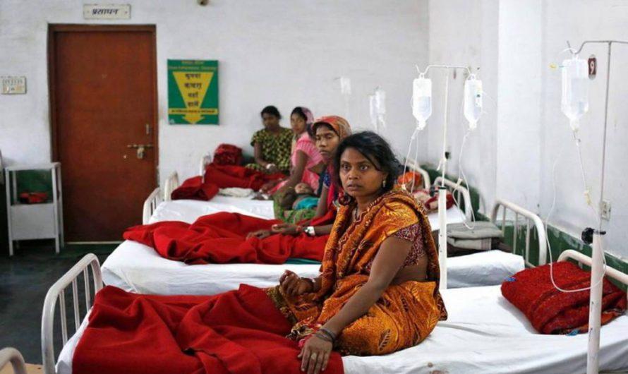 В Индии сохраняется высокая смертность